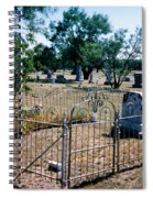 Old Grave Site 2 Spiral Notebook