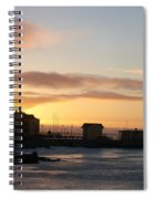 Old Harbour Of Kemi Spiral Notebook
