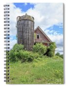 Old Historic Barn In Vermont Spiral Notebook