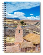 Old Historic Church Spiral Notebook
