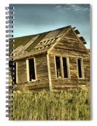 Old Home Falling In Spiral Notebook