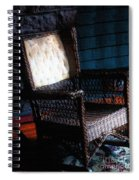 Old Homestead Sunset Spiral Notebook