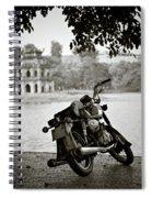 Old Honda In Hanoi Spiral Notebook