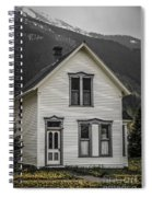 Old House And Dandelions Spiral Notebook