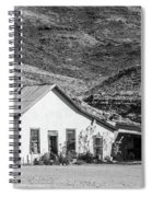 Old House And Foothills Spiral Notebook