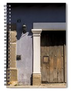 Old House - Antigua Guatemala Spiral Notebook