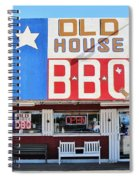 Old House Bbq Spiral Notebook
