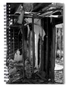 Old House Interior Construction Spiral Notebook