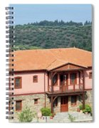 old house Sithonia Greece summer vacation scene Spiral Notebook