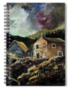 Old Houses 5648 Spiral Notebook
