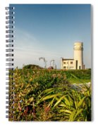 Old Hunstanton Lighthouse North Norfolk Uk Spiral Notebook