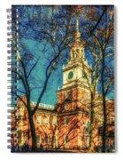 Old Independence Hall Spiral Notebook