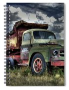 Old International Spiral Notebook