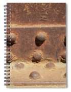 Old Iron Hinges Spiral Notebook