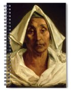 Old Italian Peasant Spiral Notebook