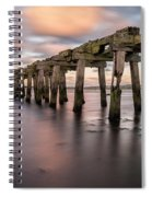 Old Jetty Near Castlerock Spiral Notebook