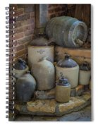 Old Jugs Color - Dsc08891 Spiral Notebook