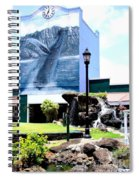 Old Kauai Village Clock Tower Spiral Notebook