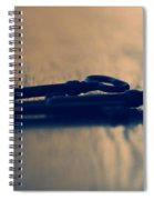 Old Keys Spiral Notebook