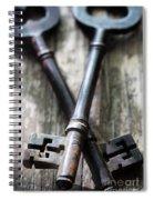 Old Keys Spiral Notebook