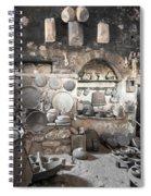Old Kitchen Spiral Notebook