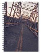 Old Knik Bridge 3 Spiral Notebook