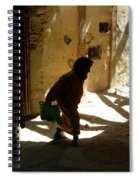 Old Lady Tangier. Spiral Notebook