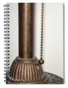 Old Lamp Spiral Notebook