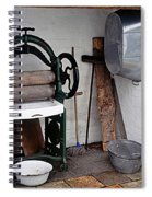 Old Laundry Spiral Notebook
