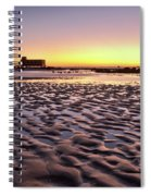 Old Lifesavers Building Covered By Warm Sunset Light Spiral Notebook
