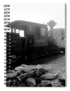 Old Locomotive Spiral Notebook