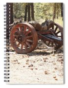 Old Logging Wagon Spiral Notebook