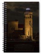 Old Mackinac Point Light, Mackinaw City Mi Spiral Notebook