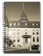 Old Main Sepia Spiral Notebook