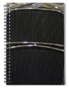 Old Man Chevy Spiral Notebook
