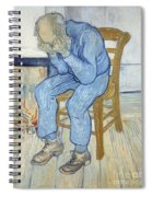 Old Man In Sorrow Spiral Notebook