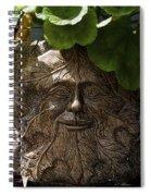 Old Man In The Garden Spiral Notebook