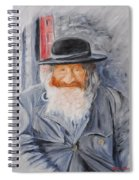 Old Man Of Jerusalem Spiral Notebook