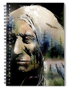 Old Man Of The Woods Spiral Notebook