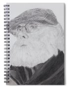 Old Man With Beard Spiral Notebook