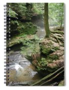 Old Man's Cave  Spiral Notebook