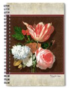 Old Masters Reimagined - Parrot Tulip Spiral Notebook