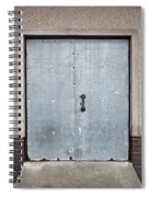 Old Metal Door Spiral Notebook