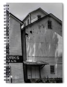 Old Mill Buildings Spiral Notebook