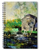Old Mill In April Spiral Notebook