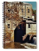 Old Mill In Autumn Spiral Notebook