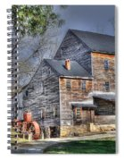 Old Mill Nelson County Virginia Spiral Notebook