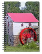 Old Mill Of Guilford Squared Spiral Notebook