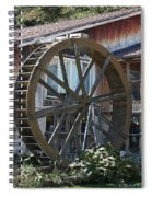 Old Mill Store Entry To Caverns Spiral Notebook