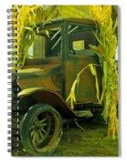 Old Model T  Spiral Notebook